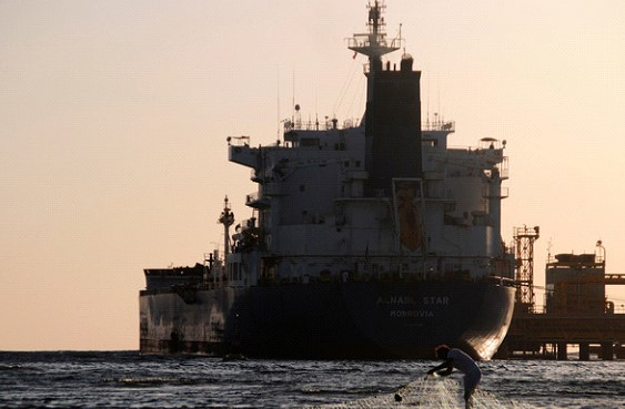 Saudi Arabia reported the attack on oil tankers