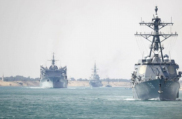 The US will increase the number of warships