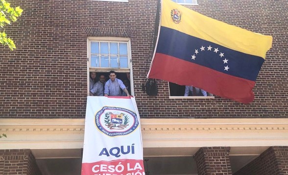 Venezuelan opposition announced the seizure of control over the Embassy in the United States