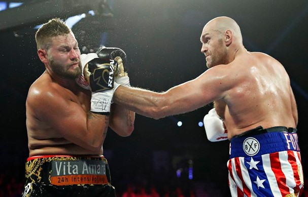 Boxer Fury defeated Schwarz in the first fight after a draw with Wilder