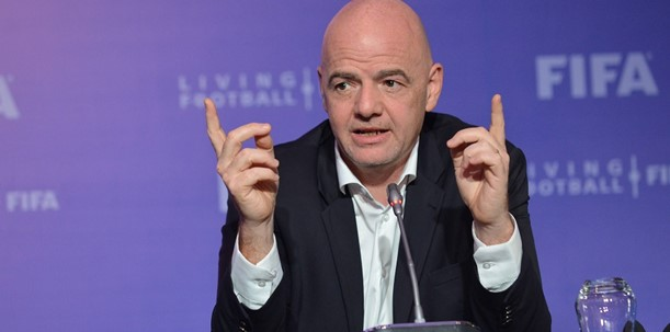 Gianni Infantino was re-elected as President of FIFA