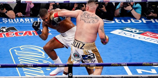 Heavyweight boxer Andy Ruiz won the championship fight with Anthony Joshua