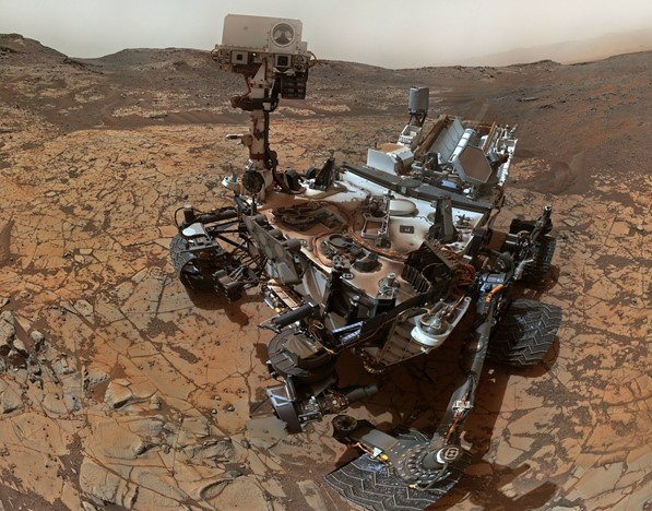 On Mars found signs of life