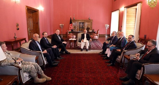 Pompeo made an unannounced visit to Kabul
