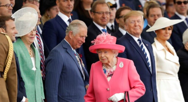 Trump and other world leaders celebrated the anniversary of the allied landings in Normandy