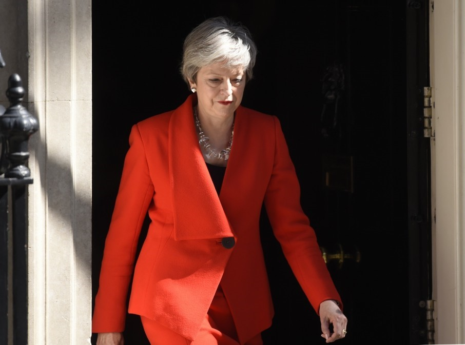 Theresa May is leaving the post of leader of the Conservative party of Britain