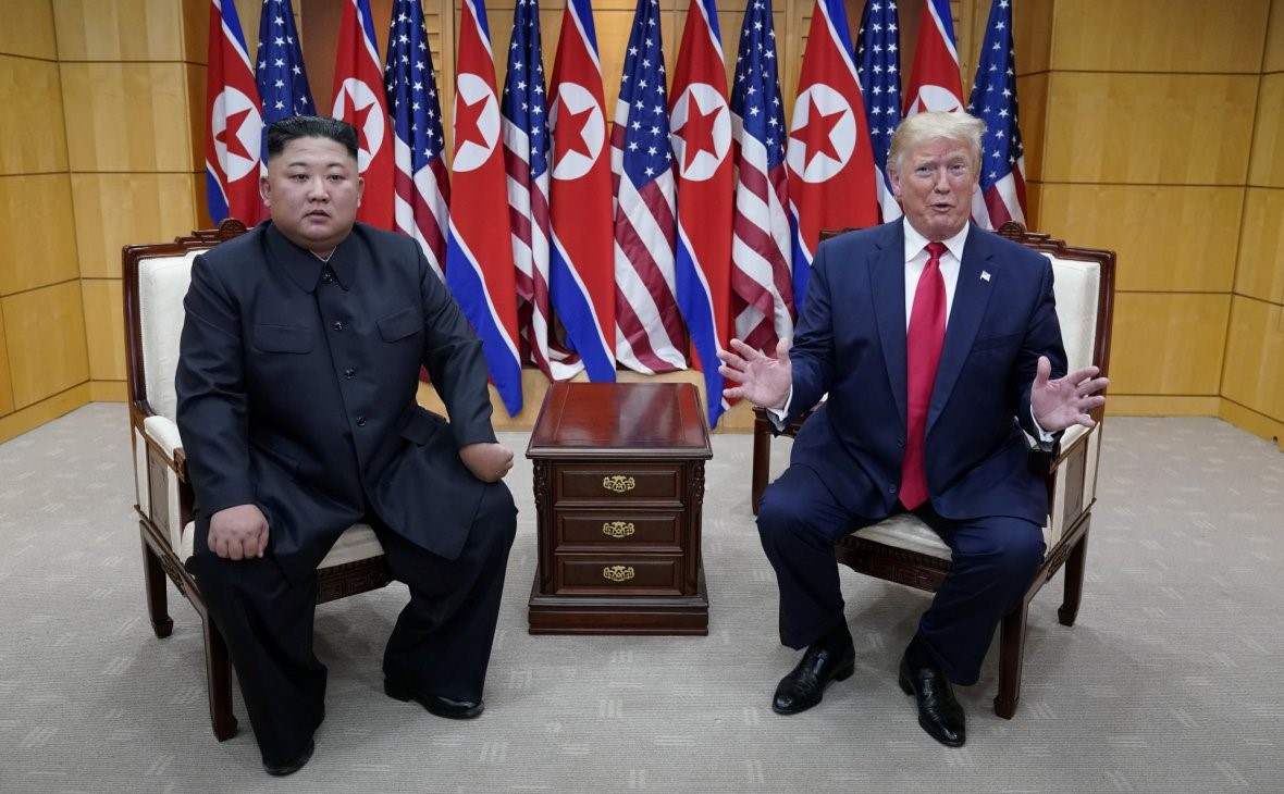Trump announced the results of the meeting with Kim Jong-un