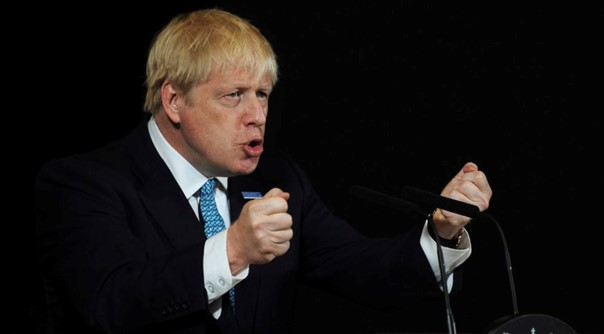 Boris Johnson called for a new trade agreement with the EU
