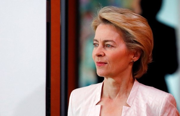 German Defense Minister Ursula von der Leyen announced her resignation