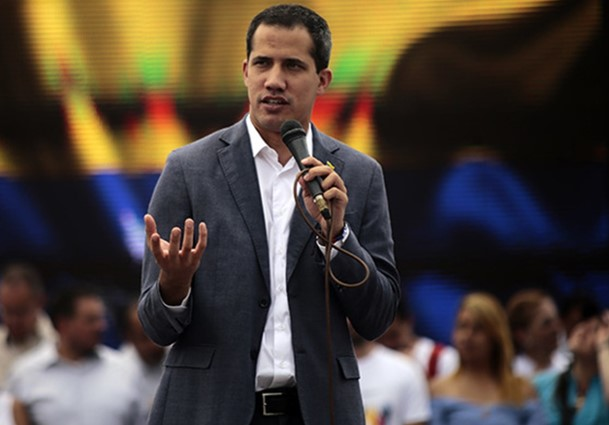 Guaido Maduro was preparing to dissolve the opposition in the Parliament of Venezuela