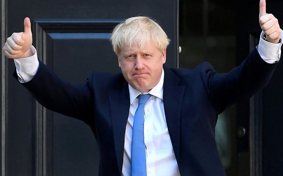"British Prime Minister Boris Johnson: postponement of ""Brexit"" will not"