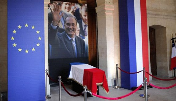 France says goodbye to Jacques Chirac