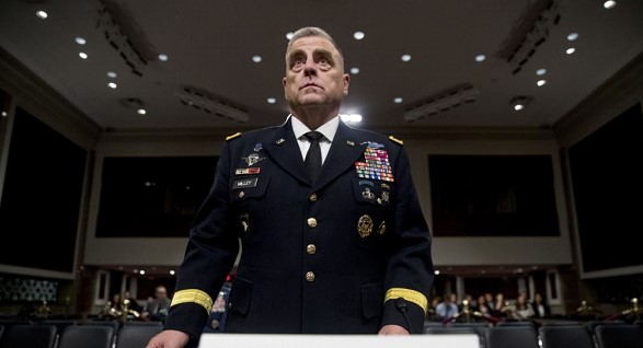 General Milley has taken over as Head of the Joint Chiefs of Staff