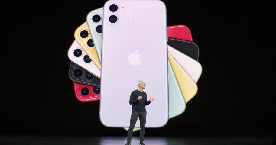 Apple introduced the iPhone 11