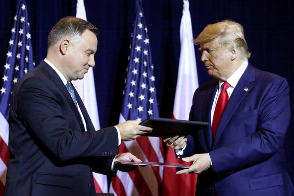Trump and Duda discussed how to stop the