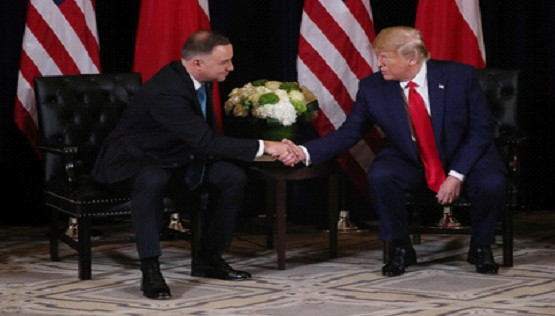 The US to strengthen military presence in Poland