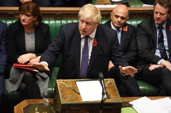 British MPs supported Johnson's proposal to hold early elections on December 12