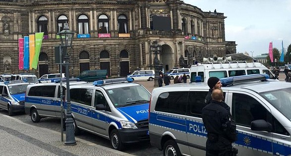 German police are investigating a mysterious death at the postal warehouse