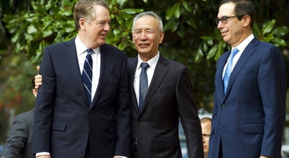 In Washington, a new round launched of trade negotiations between the US and China