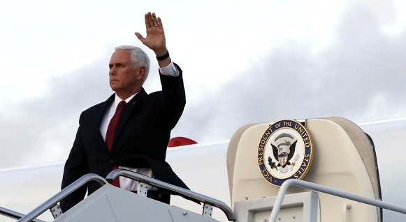 Pence arrived in Turkey hoping to convince Ankara to cease fire in Syria