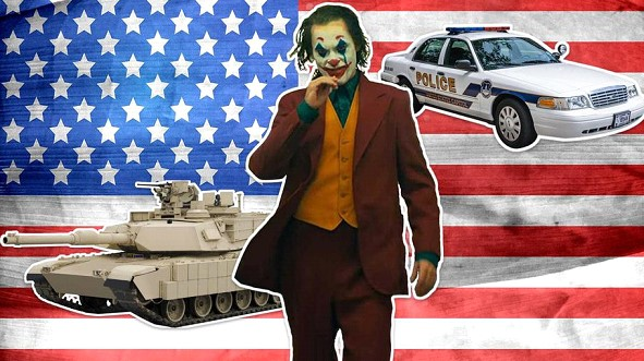 "The dangerous premiere of the ""Joker."" Police and US Army prepare for the worst"