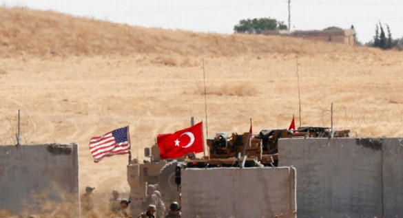 The Pentagon: the US withdrew its troops from the area of the potential occurrence of Turkey in Syria