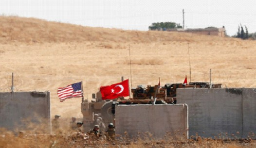 The US refused to support Turkey's military operation in Syria