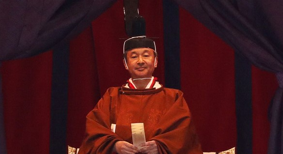 The enthronement of Emperor Naruhito took place in Japan