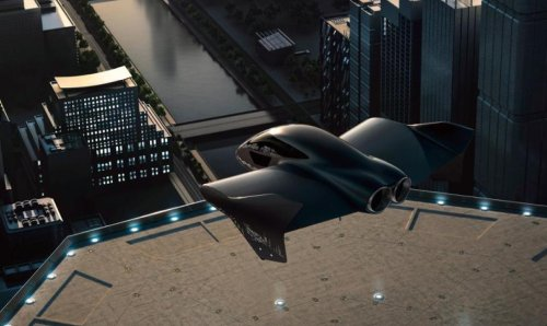 Porsche teams up with Boeing to create a premium urban flying car | FREE NEWS