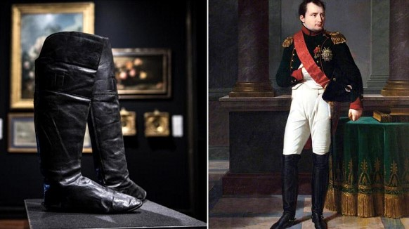 Boots of Napoleon Bonaparte sold at auction for 117 thousand euros