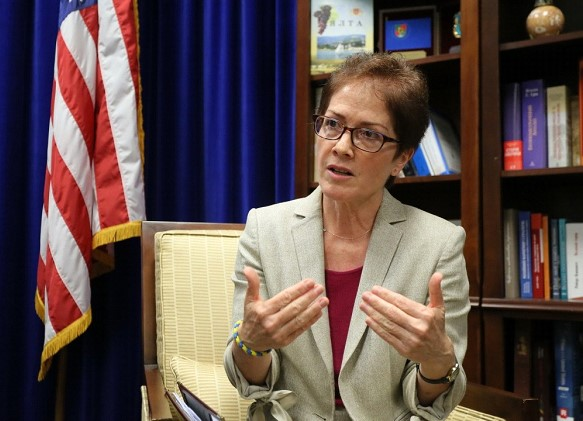 Ex-US Ambassador to Kiev believes that she was fired because of Lutsenko and Giuliani