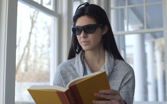 In the United States have created smart glasses that allow better focus