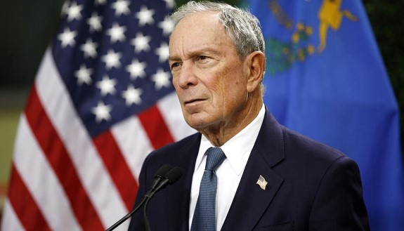 Michael Bloomberg checked in on the primaries in Arkansas