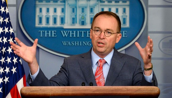 Mick Mulvaney dropped out of class action lawsuit