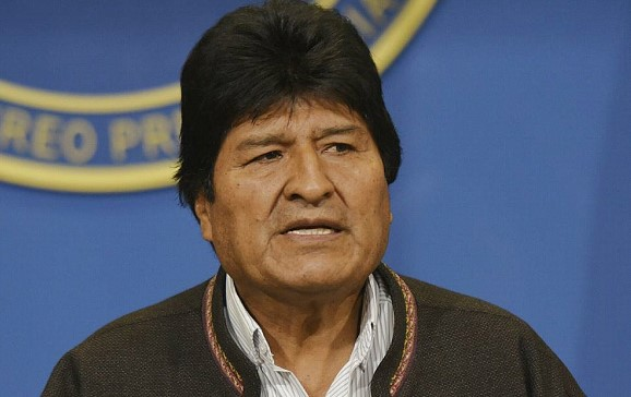 Morales considers his resignation as President of Bolivia the result of a coup