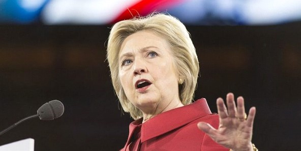 Plane with Hillary Clinton on Board urgently landed in New York