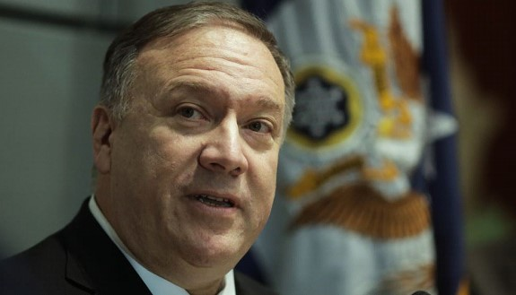 Pompeo stressed the US commitment to the fight for women's rights