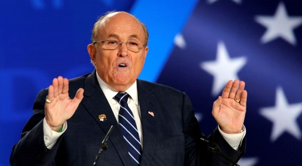 Prosecutors seek information on payments to Rudolph Giuliani