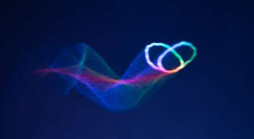 Created holographic images that you can see, hear and feel