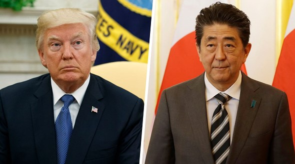 Abe discussed with Trump on the phone the situation around the DPRK