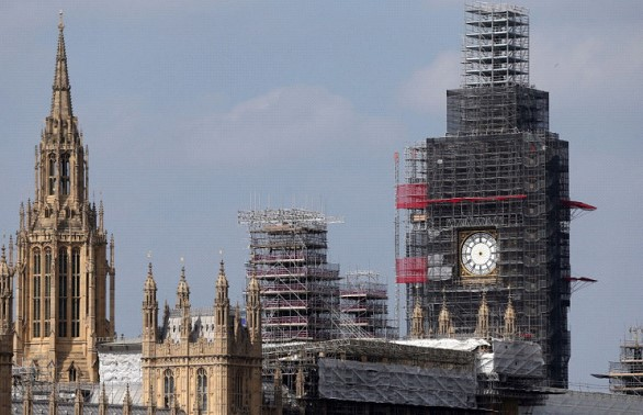 Big Ben will sound again in London on New Year's Eve