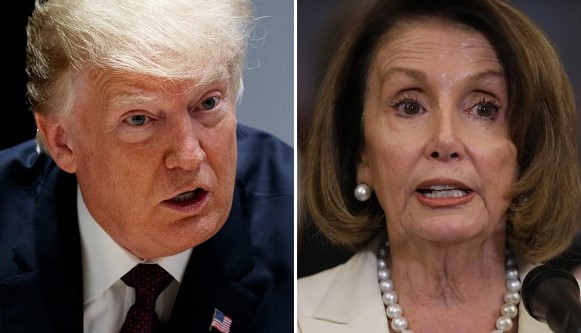 Trump criticized Pelosi for increasing the number of homeless people in California