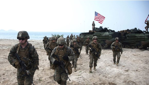 "The US will hold the largest exercises in Europe since the ""cold war"""