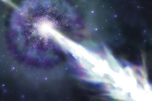Clash of galaxies produces the most powerful gamma-ray burst ever