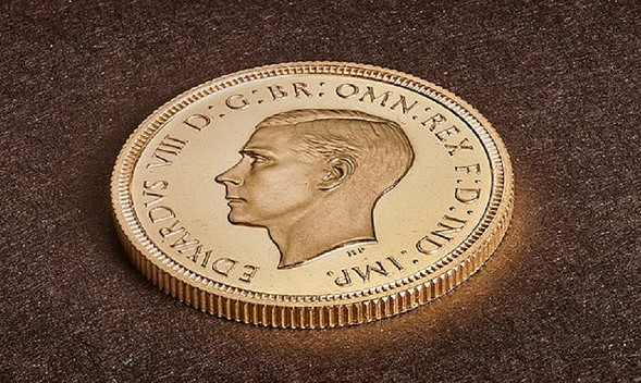 Britain's most expensive coin: gold sovereign sold for $ 1.3 million