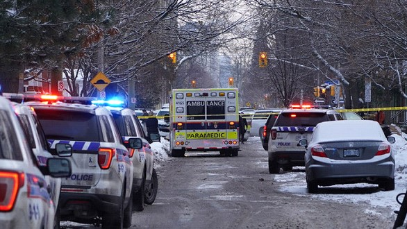 In Canada, one person was killed and three were injured in a shooting