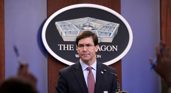 Mark Esper: the US will not violate the laws of war