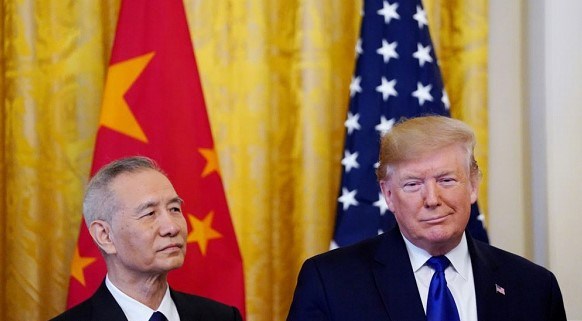 The US and China sign historic trade agreement