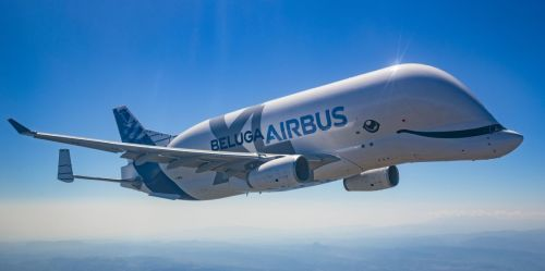 Giant Airbus BelugaXL Cargo Aircraft Launched