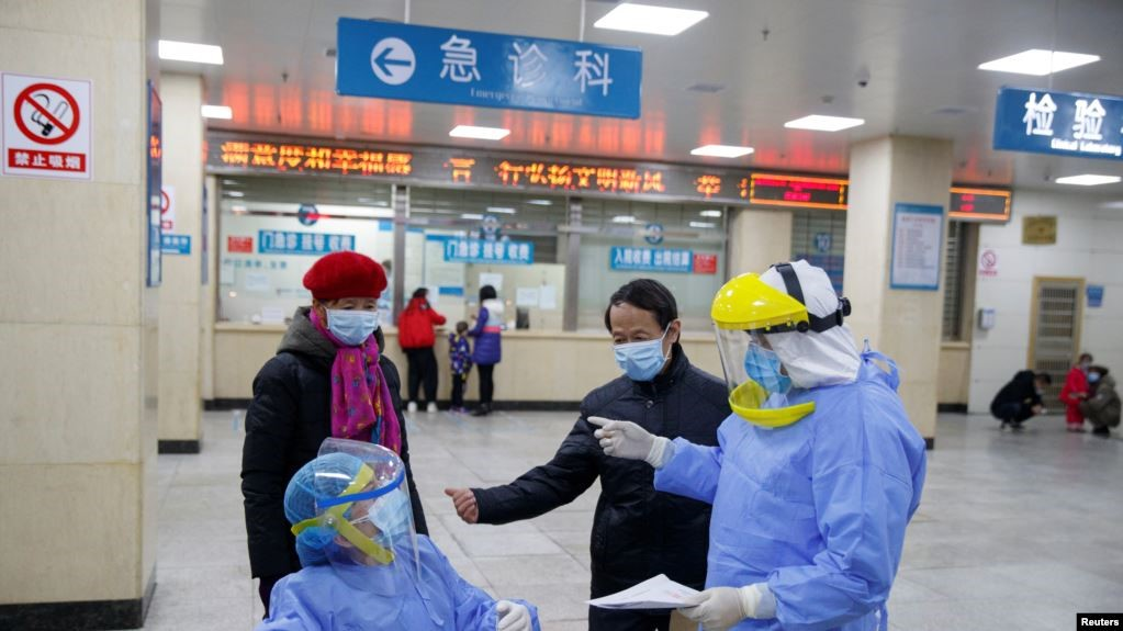 """Chinese authorities have promised to defeat the outbreak of the """"devil"""" coronavirus"""